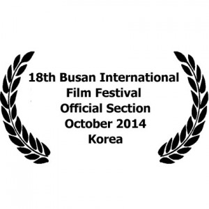 18th Busan International Film festival in the Official Section. October 2014