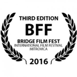1.	3rd Bridge Film Fest in Mitrovica, Kosovo. September 21-25, 2016 in the main competition section