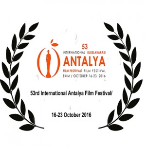53rd International Antalya Film Festival, 16-23 Oct 2016.