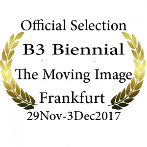 •	B3 Biennial of the moving image 2017 – in The Main Competition Section Frankfurt 29Nov  - Dec. 03, 2017