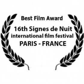 Winner of The Best Award .16e Festival International Signs de Nuit Paris Cité Universitaire de Paris October 4 - 14, 2018